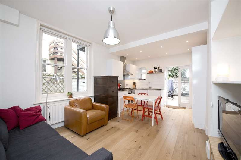 2 Bedrooms Ground Flat for sale in Kilburn Lane, London, W10