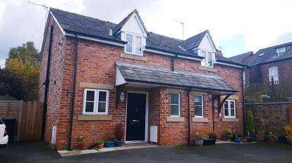 2 Bedrooms Semi Detached House for sale in Tyler Street, Alderley Edge, Cheshire