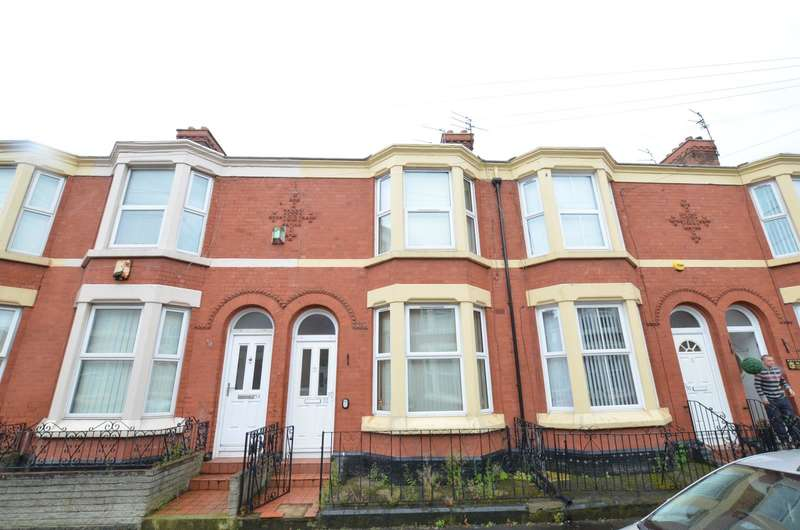 3 Bedrooms Terraced House for sale in Guelph Street, Liverpool, Merseyside, L7