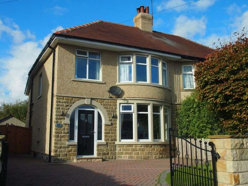 3 Bedrooms Semi Detached House for sale in Hest Bank Road, Bare, Morecambe