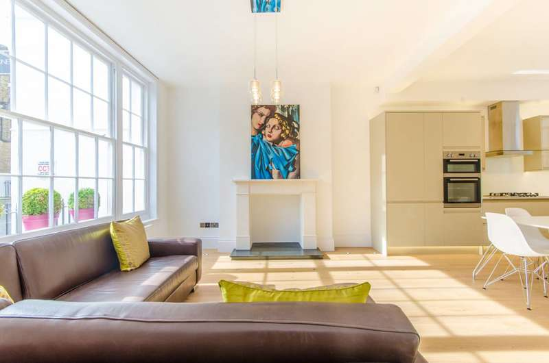 2 Bedrooms Maisonette Flat for sale in Charlton Place, Angel, N1