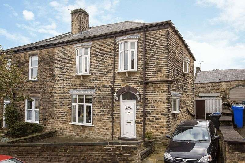 3 Bedrooms Semi Detached House for sale in Aldred Road, Crookes, Sheffield, S10 1PD