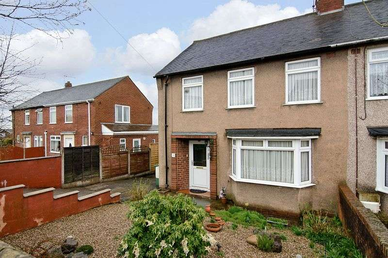 3 Bedrooms Semi Detached House for sale in Shaftesbury Drive, Hednesford