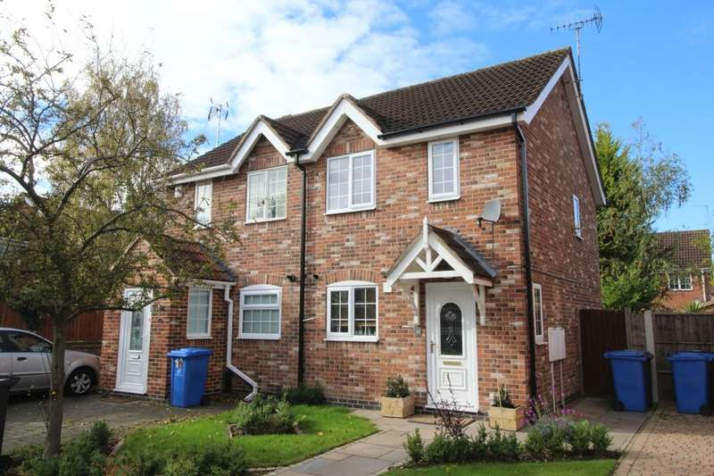 2 Bedrooms Semi Detached House for sale in Little Woodbury Drive, Littleover, Derby, DE23