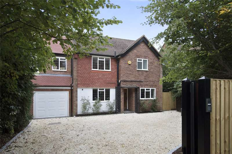 4 Bedrooms Detached House for sale in Brooklands Road, Weybridge, Surrey, KT13