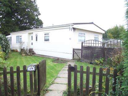 2 Bedrooms Mobile Home for sale in Bourne Lane, Woodlands, Southampton