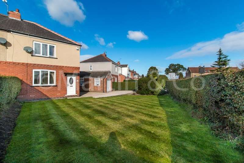 2 Bedrooms Semi Detached House for sale in Moor Lane South, Ravenfield