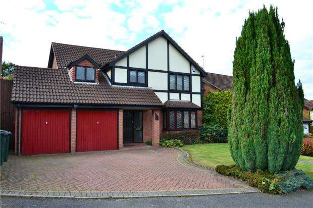 4 Bedrooms Detached House for sale in Juniper Drive, Allesley, Coventry, West Midlands