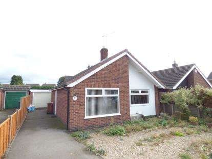 2 Bedrooms Bungalow for sale in Arnolds Crescent, Newbold Verdon, Leicester, Leicestershire