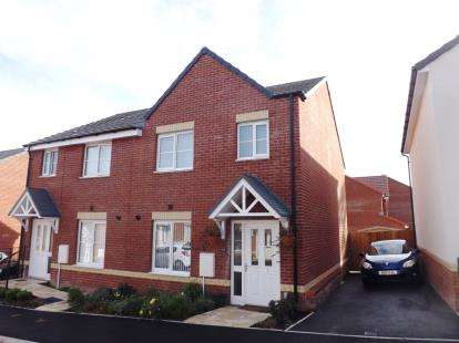 3 Bedrooms Semi Detached House for sale in Newton Abbot, Devon