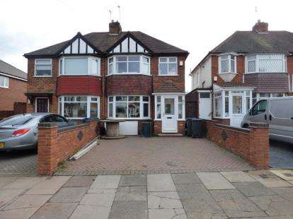 3 Bedrooms Semi Detached House for sale in Edgemond Avenue, Birmingham, West Midlands