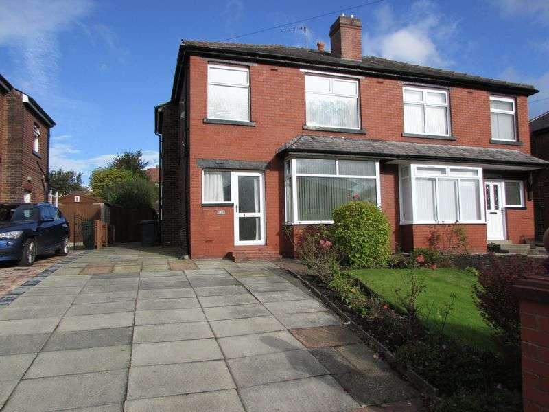 3 Bedrooms Semi Detached House for sale in Ainsworth Road, Bury - Good Sized Garden