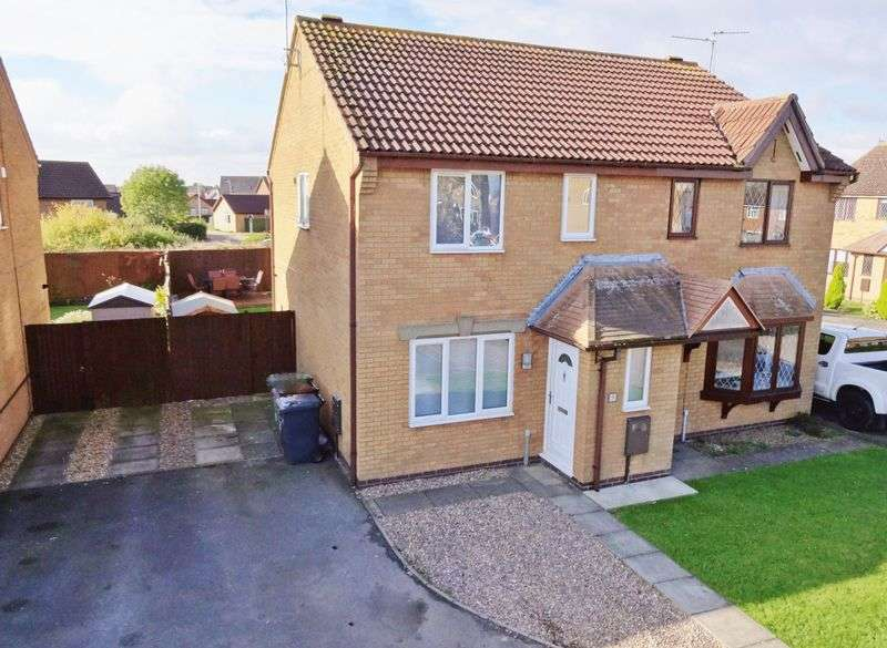 3 Bedrooms Semi Detached House for sale in Forstal Close, Corby