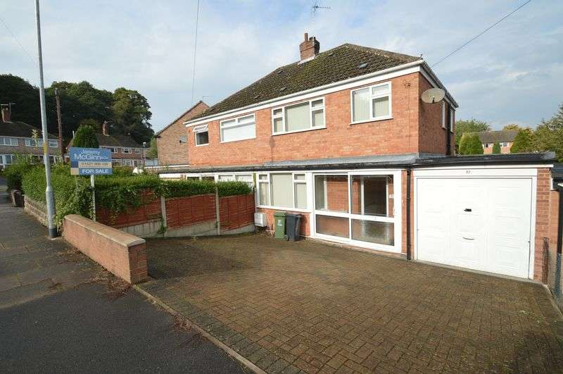 3 Bedrooms Semi Detached House for sale in Vicarage Crescent, Redditch