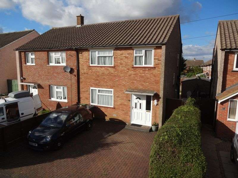 3 Bedrooms Semi Detached House for sale in Marlin Road, Luton