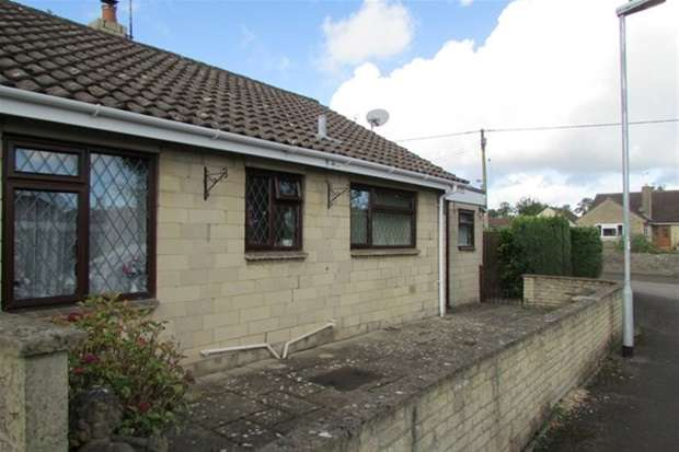 2 Bedrooms Semi Detached Bungalow for sale in Ashfield Close, Trudoxhill, Frome