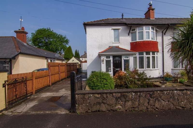 2 Bedrooms Semi Detached House for sale in Woodland Road, Whitchurch, Cardiff