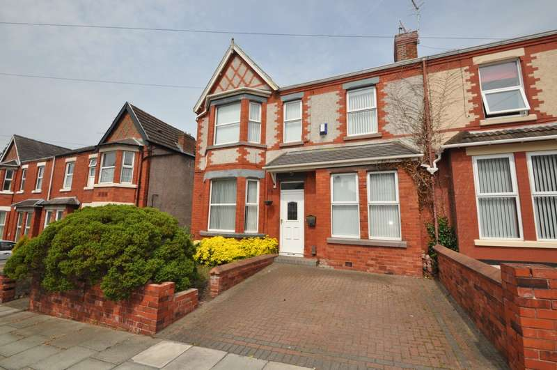 4 Bedrooms House for sale in Hillside Road, Wallasey Village