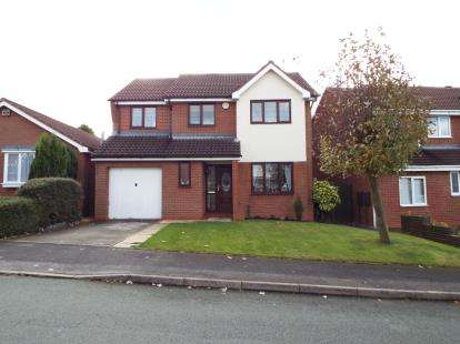 5 Bedrooms Detached House for sale in Redwing Drive, Huntington, Cannock, Staffordshire