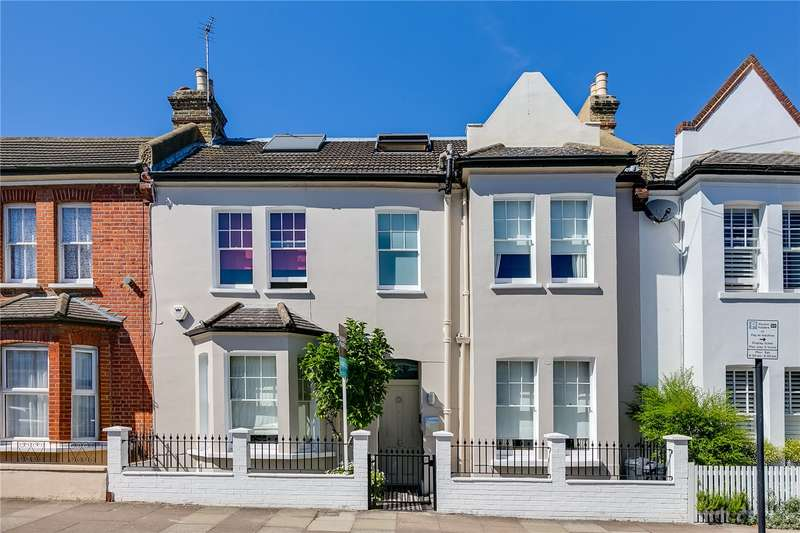 4 Bedrooms Terraced House for sale in Romberg Road, London, SW17