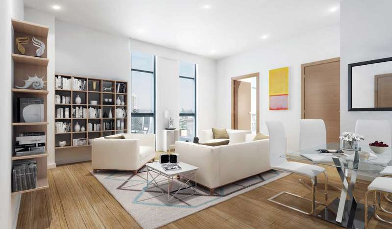 2 Bedrooms Flat for sale in Woolwich,King Henry`s Dock