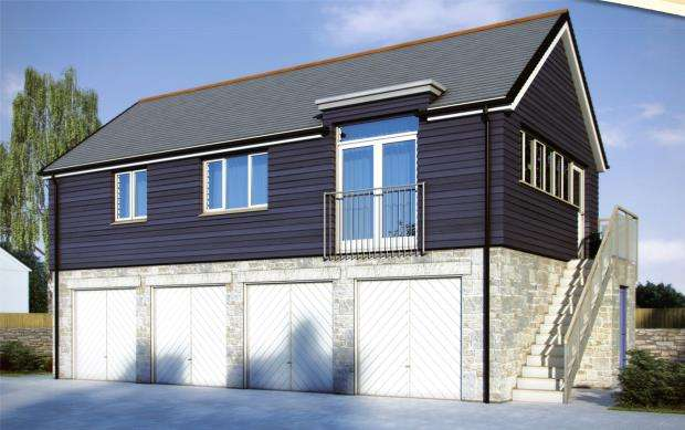 2 Bedrooms Flat for sale in Foundry Close, Hidderley Park, Camborne, Cornwall