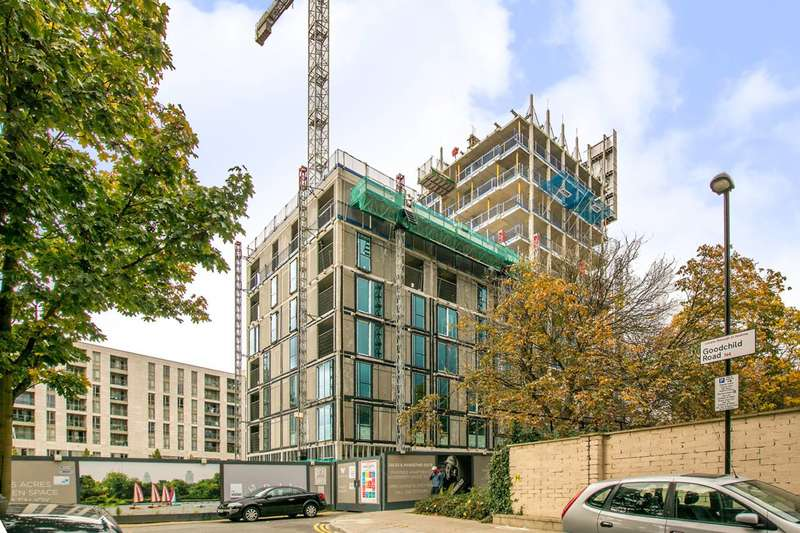 1 Bedroom Flat for sale in Woodberry Down, Finsbury Park, N4