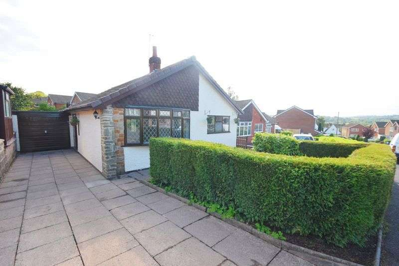 2 Bedrooms Detached Bungalow for sale in High View Road, Endon