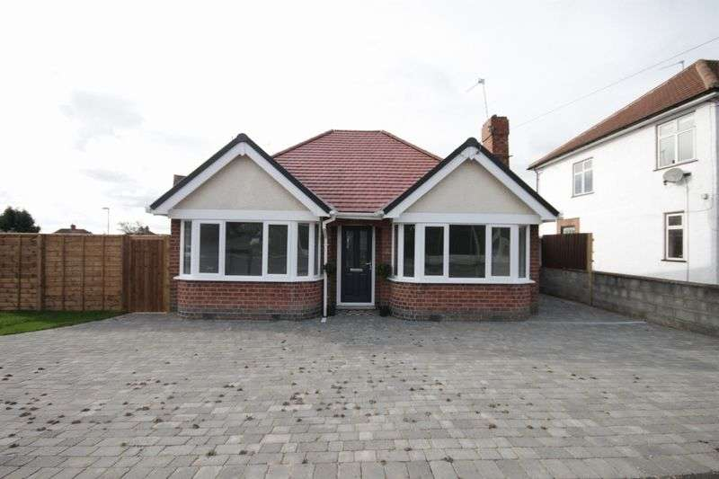 2 Bedrooms Detached Bungalow for sale in PINGLE, ALLESTREE