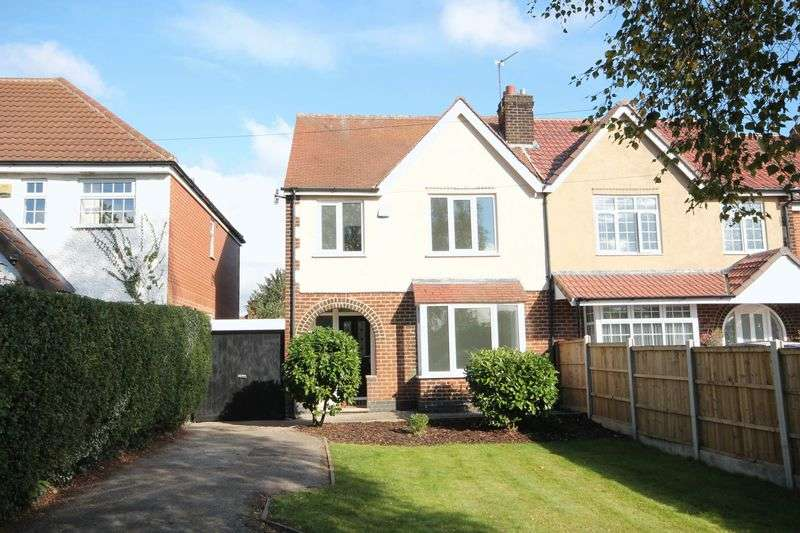 3 Bedrooms Semi Detached House for sale in NORMANTON LANE, LITTLEOVER