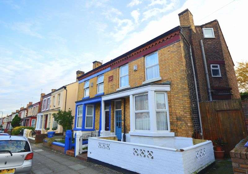 4 Bedrooms Semi Detached House for sale in 32 Vandyke Street, Toxteth