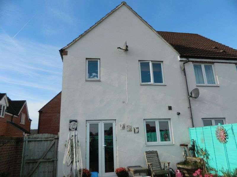 3 Bedrooms Terraced House for sale in Church Meadow, Bridgwater