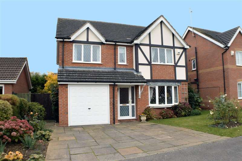 4 Bedrooms Detached House for sale in Bernicia Drive, Quarrington, Sleaford