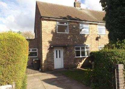 2 Bedrooms Semi Detached House for sale in Johnson Avenue, Hucknall, Nottingham, Nottinghamshire