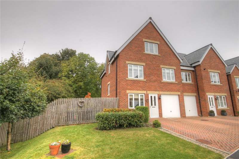 4 Bedrooms Semi Detached House for sale in Howden Green, Howden Le Wear, Crook, DL15