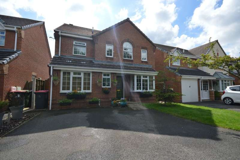 4 Bedrooms Detached House for sale in Warwick Way, Leegomery, Telford, TF1