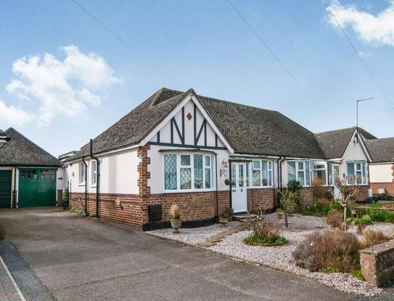 3 Bedrooms Semi Detached Bungalow for sale in Golden Miller Lane, Polegate, BN26