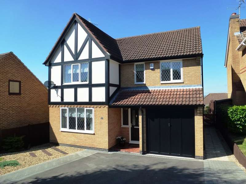 4 Bedrooms Detached House for sale in Minton Road, Castle Donington, Derby