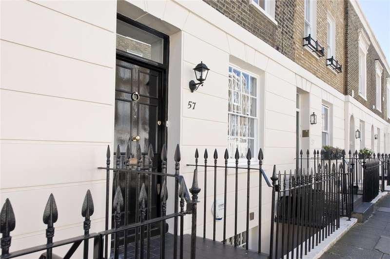 4 Bedrooms Terraced House for sale in Chester Row, London, SW1W