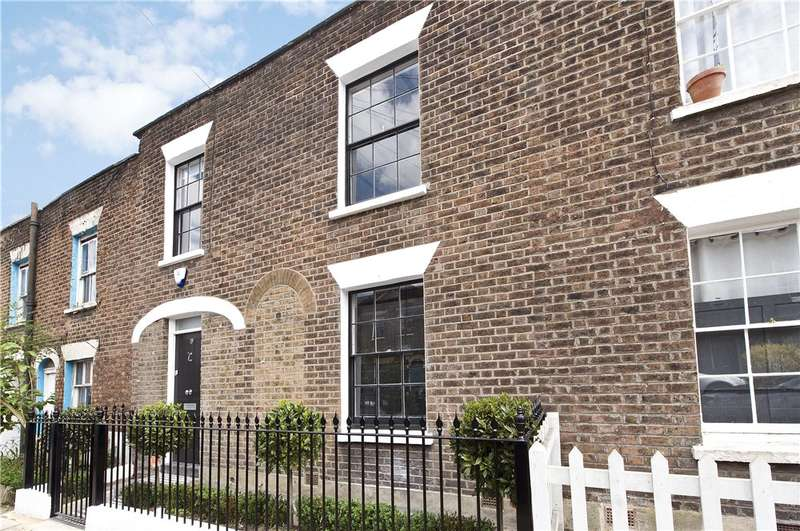 3 Bedrooms Terraced House for sale in Lillieshall Road, London, SW4