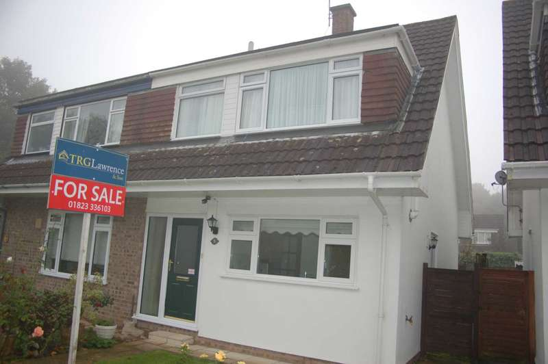 3 Bedrooms Semi Detached House for sale in Wambrook Close, Taunton