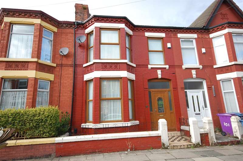 3 Bedrooms Terraced House for sale in Kenmare Road, Wavertree, Liverpool, L15