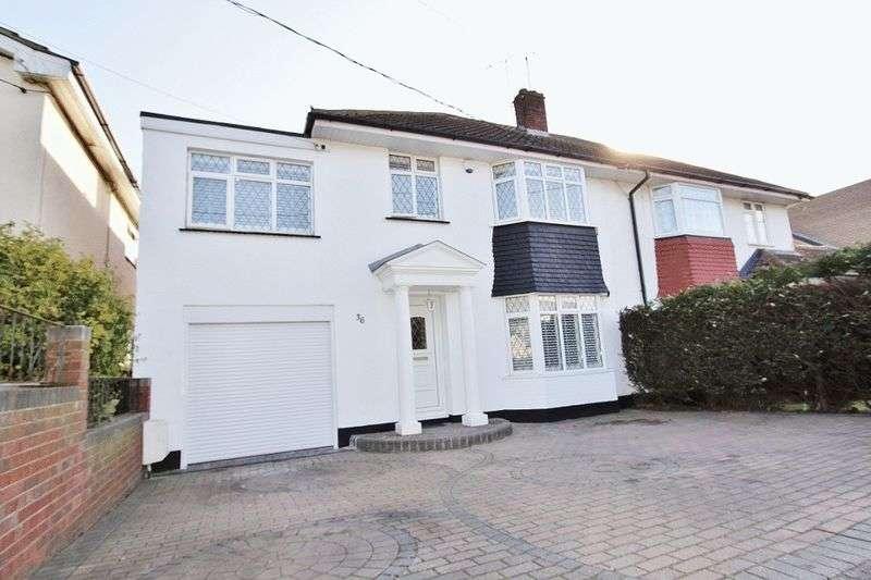 4 Bedrooms Semi Detached House for sale in Rectory Road, Benfleet