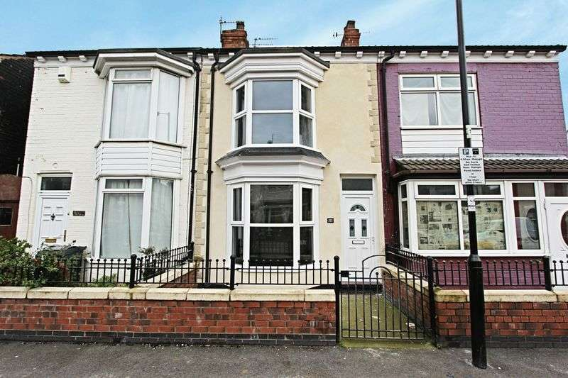 2 Bedrooms Terraced House for sale in De La Pole Avenue, Hull