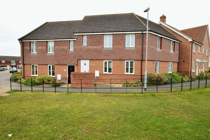 2 Bedrooms Flat for sale in Poethlyn Drive, Costessey