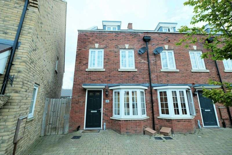 3 Bedrooms Terraced House for sale in Brooklands Avenue, Bedford