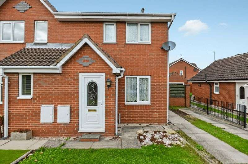 2 Bedrooms Semi Detached House for sale in 3 Woodlands Drive, Barlby, Selby, YO8 5XH
