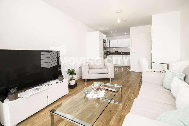 1 Bedroom Flat for sale in Waterside Park, N Woolwich Road, Docklands
