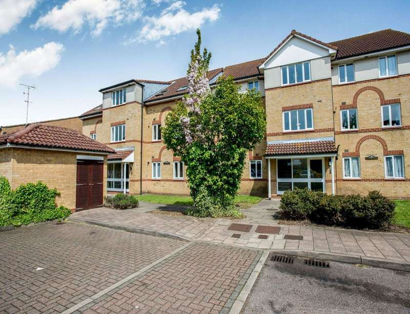2 Bedrooms Flat for sale in Lilac House Pilgrims Court Farnol Road, Dartford, DA1