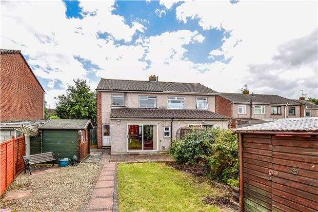 3 Bedrooms Semi Detached House for sale in St. Briavels Drive, Yate, BRISTOL, BS37 4EZ